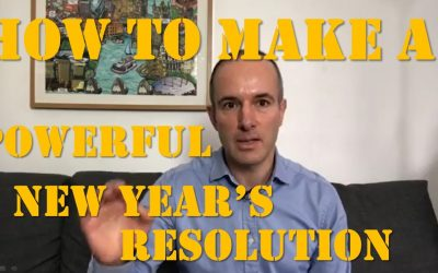 How to make a powerful New Year's Resolution?
