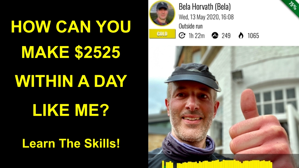 How I made $2525 within a day online?*